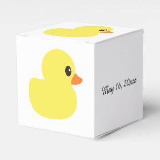 """""""Rubber Ducky"""" Favor Box Party Favour Box"""