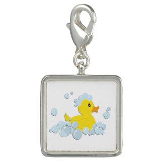 Rubber Ducky in Bubbles