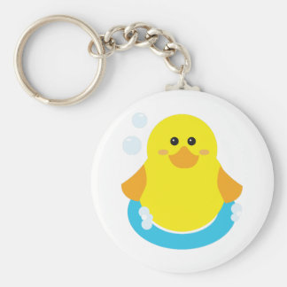 Rubber Ducky Keychains
