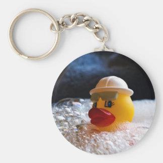 Rubber Ducky Keychain