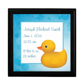 Rubber Ducky Large Square Gift Box