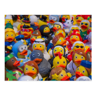 Rubber Ducky Parade Postcard