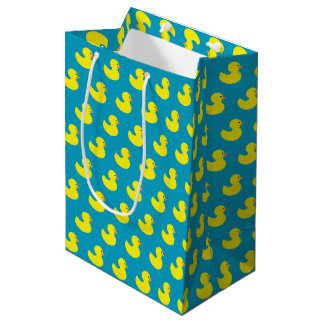Rubber Ducky Pattern Gift Bag
