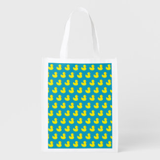 Rubber Ducky Pattern Reusable Bag