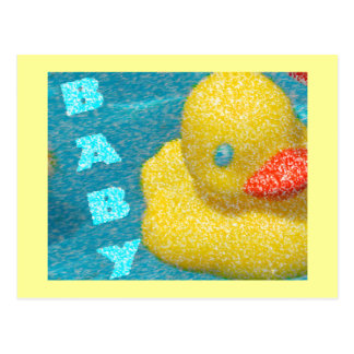 Rubber Ducky Postcard