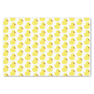 """Rubber Ducky"" Tissue Paper"