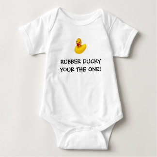 RUBBER DUCKY YOUR THE ONE! BABY BODYSUIT