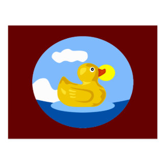 Rubber Ducky's Adventure Postcard