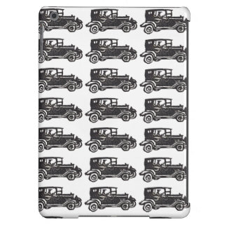 Rubber Stamp, Antique Car And Driver iPad Air Case