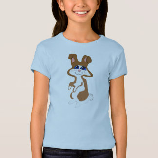 Rubber Stamp, Bunny, In Color T-Shirt