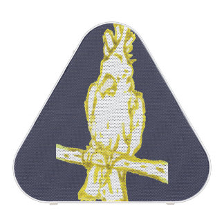 Rubber Stamp, Cockatoo, In Color