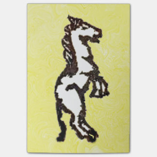 Rubber Stamp, Horse Post-it® Notes