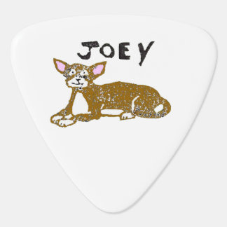Rubber Stamp, Joey, In Color Plectrum