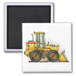 Rubber Tire Loader Construction Equipment Fridge Magnets