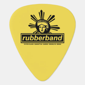 Rubberband Guitar Pick