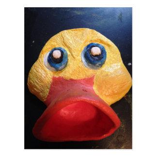 Rubby Ducky Postcard