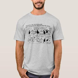 Rube Goldberg Watch Maker comic strip T-Shirt