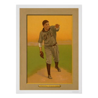 Rube Waddell Browns Baseball 1911 Poster