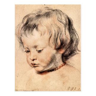 Rubens Son Nicholas by Paul Rubens Postcard
