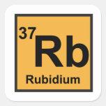 Rubidium Sticker