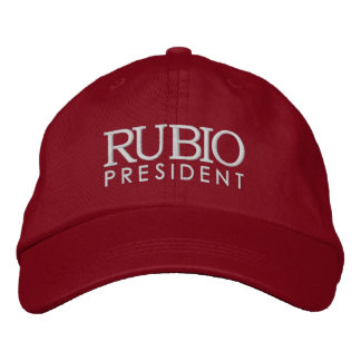 Rubio for President 2016 Embroidered Hat
