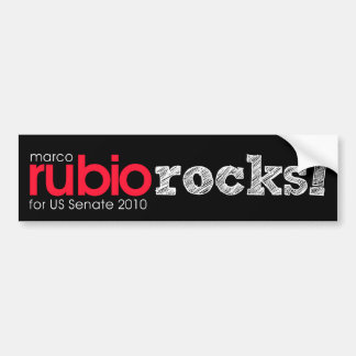 rubio rocks! bumper sticker