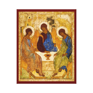 Rublev Trinity at the Table Canvas Print