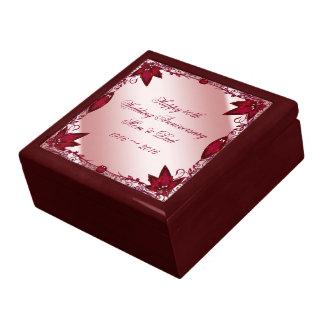 Ruby 40th Wedding Anniversary Gift Box