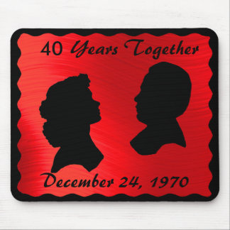 RUBY ANNIVERSARY-MOUSEPAD MOUSE PAD
