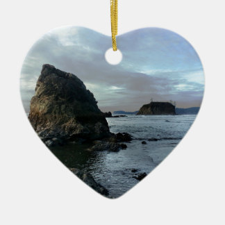 Ruby Beach in Olympic National Park Ceramic Ornament