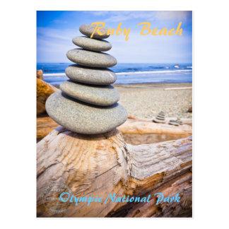 Ruby Beach - Olympic National Park Postcard