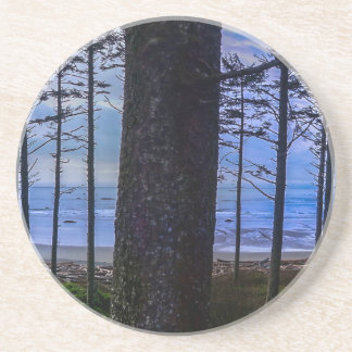 Ruby Beach sea shore Coaster