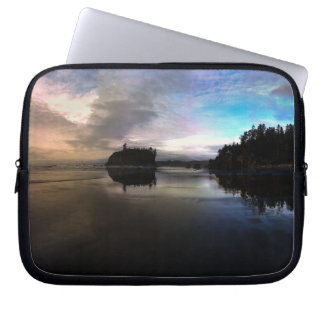 Ruby Beach Sunset | Olympic NP Laptop Sleeve