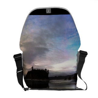 Ruby Beach Sunset | Olympic NP Messenger Bags