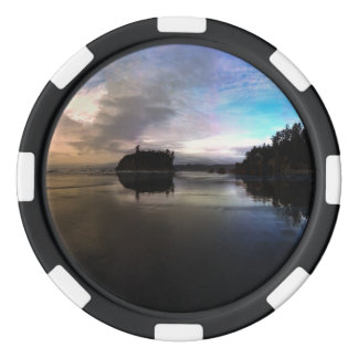 Ruby Beach Sunset | Olympic NP Poker Chips