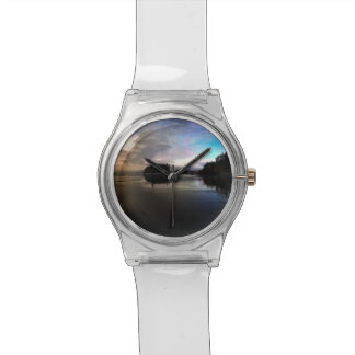 Ruby Beach Sunset | Olympic NP Wristwatch