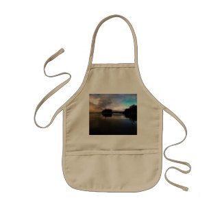 Ruby Beach Sunset Reflection Kids Apron