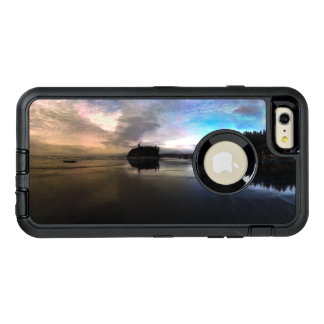 Ruby Beach Sunset Reflection OtterBox Defender iPhone Case