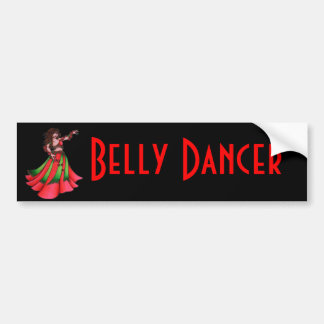 Ruby Belly Dancer Bumper Sticker