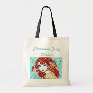 Ruby Bird Rosie Tote Bag (with text)