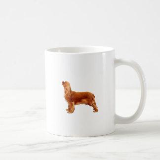 Ruby Cavalier Basic White Mug