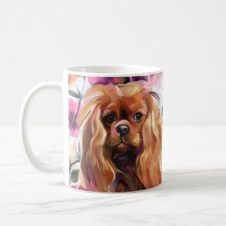 Ruby Cavalier Mug vintage