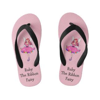 Ruby Custom Flip Flops, Kids Kid's Thongs