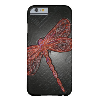 Ruby Dragonfly Barely There iPhone 6 Case
