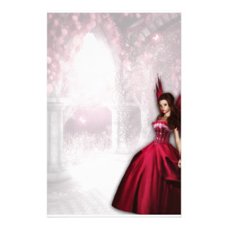 Ruby Fairy Stationery
