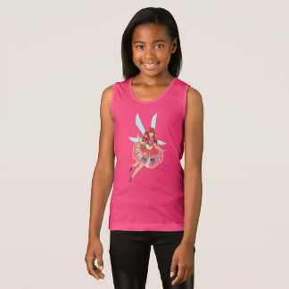 Ruby Girls' Fine Jersey Tank Top