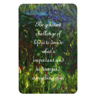 Ruby Marshes quote Rectangular Photo Magnet