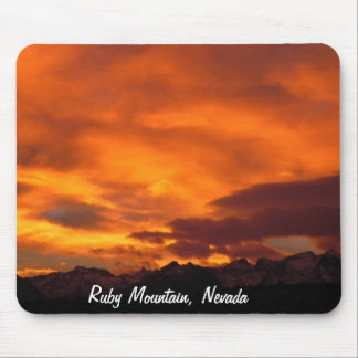 Ruby Mountains, Nevada Mouse Pad