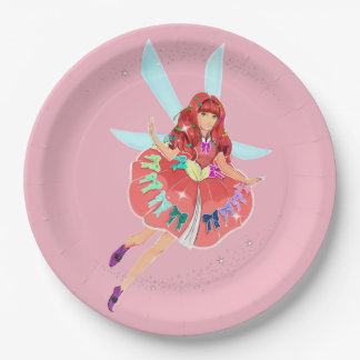 """Ruby Official Dress Custom Paper Plates 9"""""""