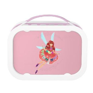 Ruby Official Dress Yubo Lunchbox, Pink Lunch Box